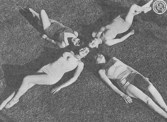 Chilean charm reina de la primavera 1950 for Piscina mund